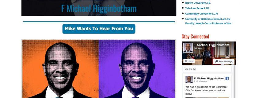 F Michael Higginbotham